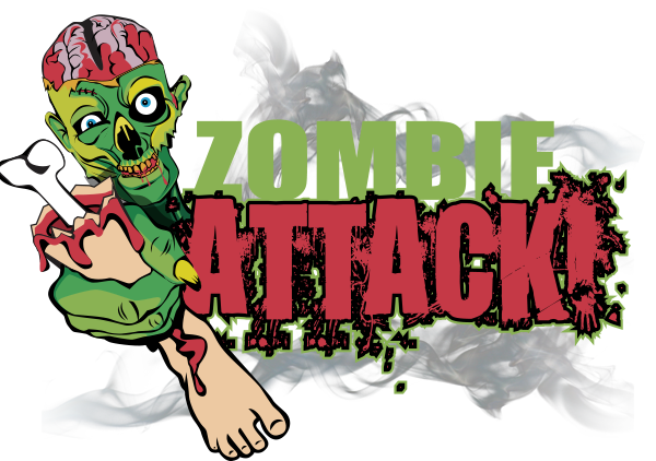 Zombie Attack - Airsoft Haunted Attraction - Night Terrors Haunted Farm, Schoharie New York