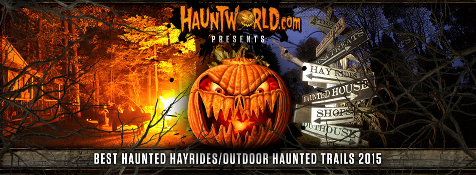 Night Terrors Haunted Farm Voted One of the Best Haunted Hayrides in America by HauntWorld Magazine